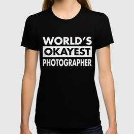 FUNNY PHOTOGRAPHER T-SHIRT T-shirt