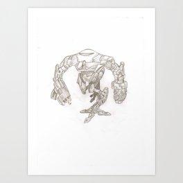 Death Machine Art Print