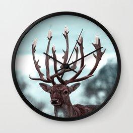 Candlestick - Julien Tabet - Photoshop Artwork Wall Clock