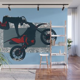 Flying Freestyle Moto-x Champ Wall Mural