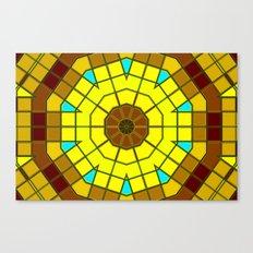 Glass Kaleidoscope Canvas Print