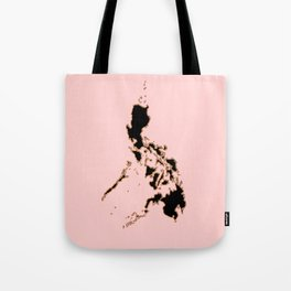 Philippines map Tote Bag