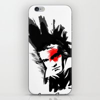 beethoven iPhone & iPod Skins featuring Beethoven Punk by viva la revolucion