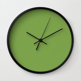 Gifts from the Garden ~ Leaf Green Wall Clock