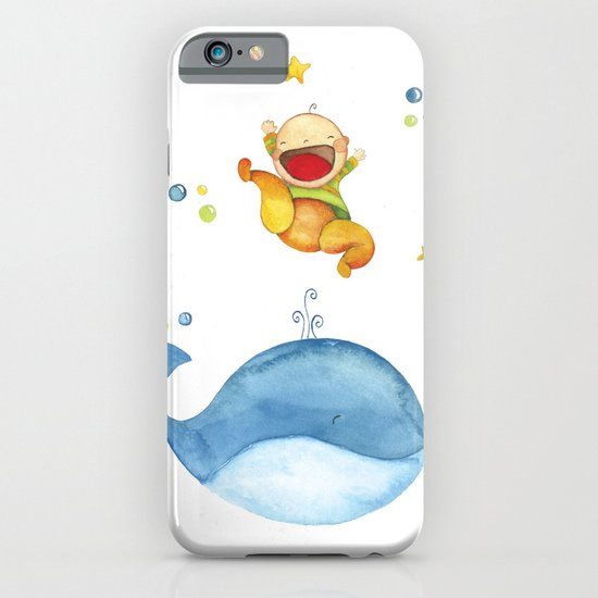 Baby whale iPhone & iPod Case