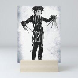 Edward Scissorhands - Johnny Depp Mini Art Print
