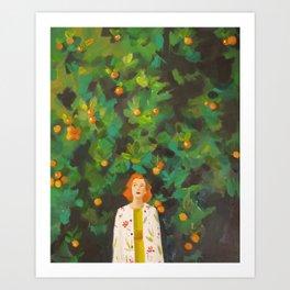 Lost in Miami Art Print