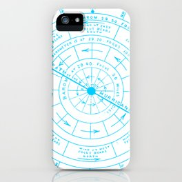 Stormy North iPhone Case