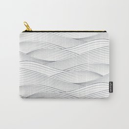 Smooth Japanese Wave Carry-All Pouch