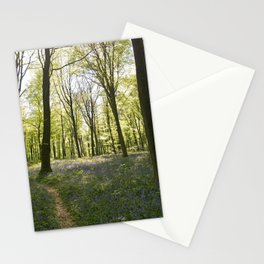 Deep in Micheldever Wood Stationery Cards