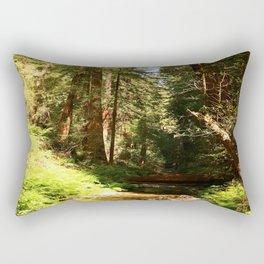 A Muir Woods Scene Rectangular Pillow