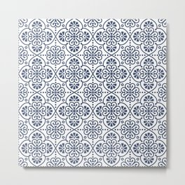 Pattern Portugal Metal Print
