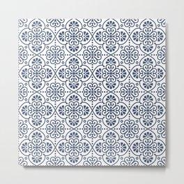 Pattern Portugal Metal Print