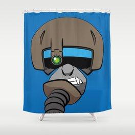 Gibbon Aviator Shower Curtain