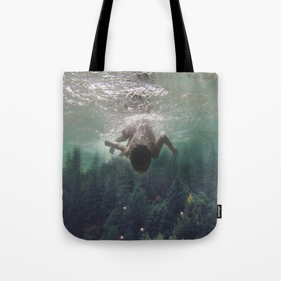 the level inside will rise Tote Bag