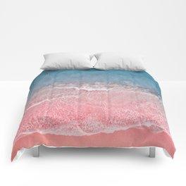 Bahamas pink blue Comforters