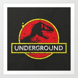 Monsters of the Underground Art Print
