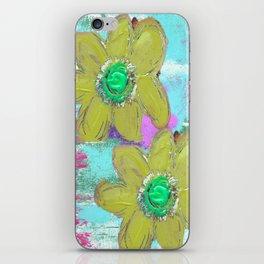FLORAL MASHUP iPhone Skin