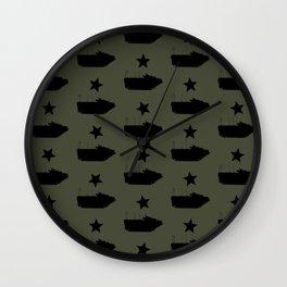 AAV-7 Amphibious Assault Vehicle Wall Clock