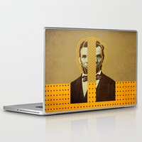 lincoln Laptop & iPad Skins featuring AbracadAbraham - Lincoln by AmDuf