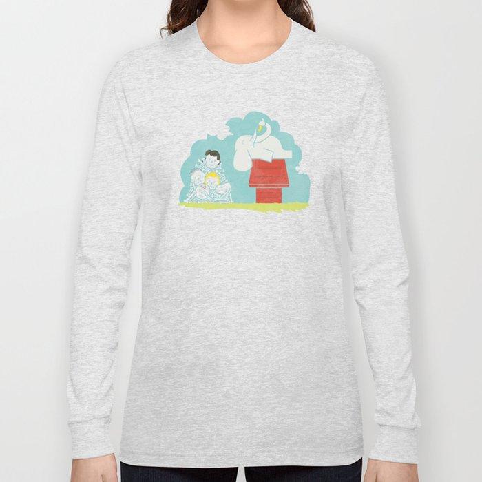 Elephants Love Peanuts Long Sleeve T-shirt