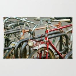 Bicycles of Paris Rug