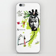 welcome to absurdistan/ no. 103/365 iPhone & iPod Skin