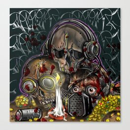 see no, hear no, speak no evil Canvas Print
