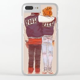 varsity Clear iPhone Case