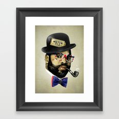 MISTER TEA Framed Art Print