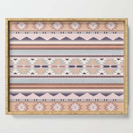 Blush South Western Pattern Serving Tray