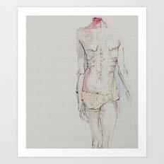 Model? Art Print