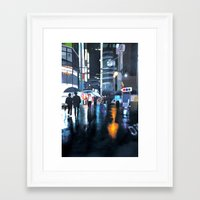 seoul Framed Art Prints featuring Seoul by emily s.m.