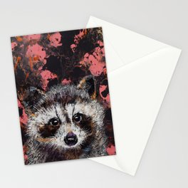 Baby Raccoon Stationery Cards