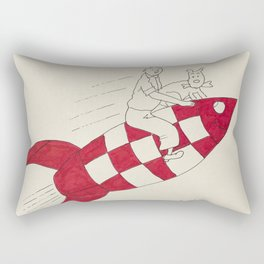 Tintin and Snowy Rectangular Pillow