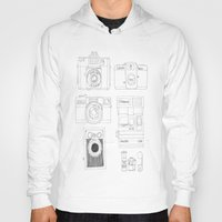 cameras Hoodies featuring cameras by steffaloo