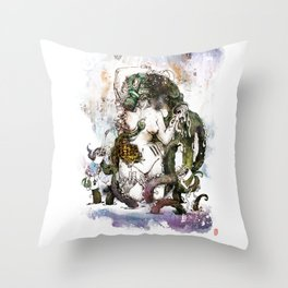 To drink or not to drink? Throw Pillow