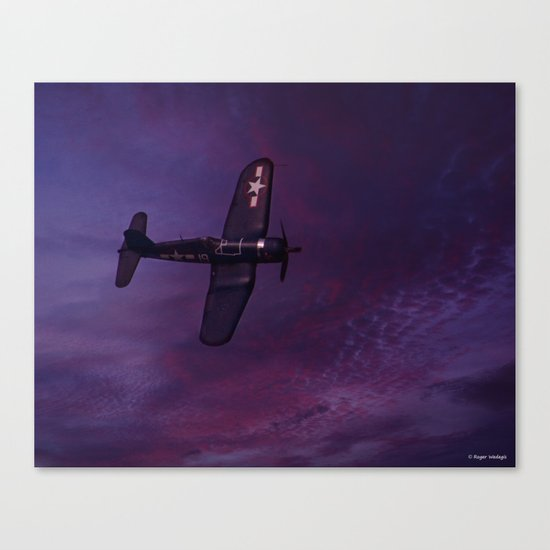 Corsair At Dawn Canvas Print