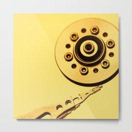Computer Hard Drive 4 Metal Print