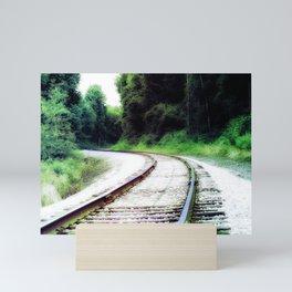 Train Tracks Mini Art Print