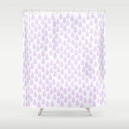 lila tears Shower Curtain