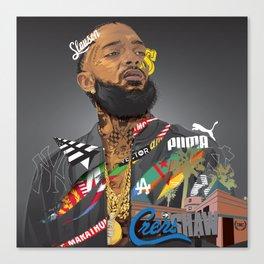 Nip Hussle The Great Canvas Print