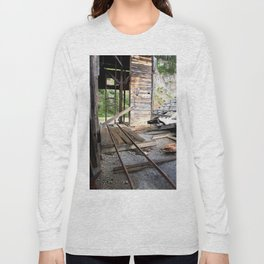 Exploring the Longfellow Mine of the Gold Rush - A Series, No. 8 of 9 Long Sleeve T-shirt