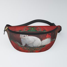 Beautiful whites squirrel Fanny Pack