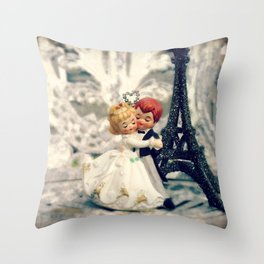 Dancing at the Wedding Throw Pillow