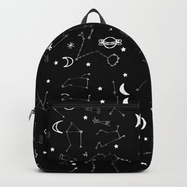Astrology Pattern Black #homedecor Backpack
