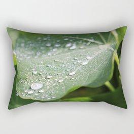 Fresh Nasturtium Rectangular Pillow