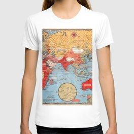 Map Of World War 2 T-shirt
