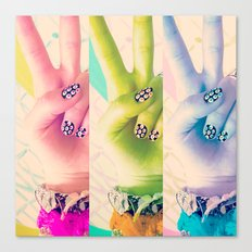 Peace be with You Canvas Print