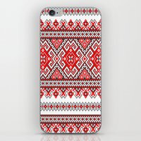ukraine iPhone & iPod Skins featuring Ukraine-ornament 2 by  Nikolay Ampilogow